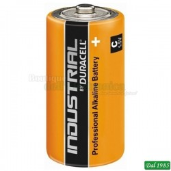 PILE MEZZA TORCIA ALCALINE DURACELL INDUSTRIAL