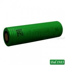BATTERIA RICARICABILE 18650 VTC5 SONY 3,6 VOLT 2610 MAH A LITIO