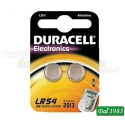 PILA LR 54 DURACELL ALKALINE - MANGANESE