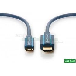 Cavo adattatore Mini-HDMI™ con Ethernet - adattatore ad alta velocità per passaggio da HDMI™ a mini-HDMI™
