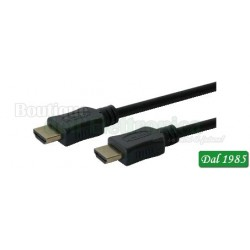 CAVO HDMI HIGH SPEED CON ETHERNET ECO SERIES 1M