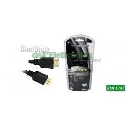 CAVO HDMI HIGH SPEED CON ETHERNET HD HOME SERIES 2MT
