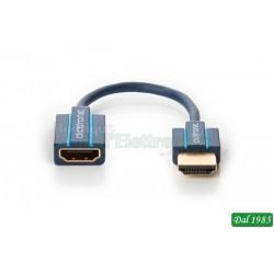HDMI™ Flex adattatore - adattatore compatto per TV con poca distanza dalla parete ed angoli stretti