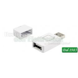 ADATTATORE USB DI RICARICA RAPIDA 2,1A PER SMARTPHONE E TABLET