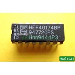 CIRCUITO INTEGRATO CD 40174 =HCF40174