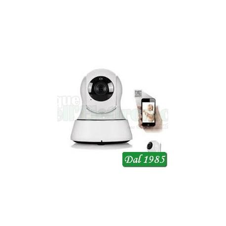 TELECAMERA IP WI-FI/WIRED MOTORIZZATA HD 720P, CON RILEVAMENTO MOTION