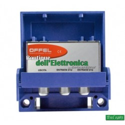 AMPLIFICATORE DA PALO OFFEL (28-010) VHF MISCELATO UHF 25dB