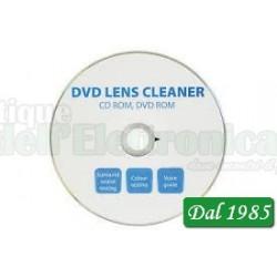 CD PULISCI TESTINA CD/DVD