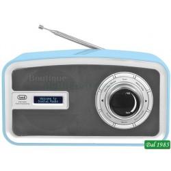 RADIO DAB PORTATILE TREVI DAB 792 R AZZURRO