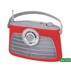 RADIO PORTATILE 2 BANDE TREVI RA 763 V ROSSOCOD: 0076302