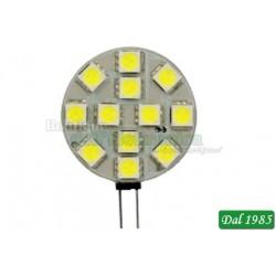 LAMPADA BISPINA 12 LED G4 2,4W LUCE BIANCA