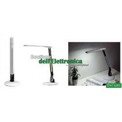 LAMPADA DA TAVOLO 72 LED DIMMER TOUCH CON LUCE NOTTURNA MULTICOLOR RGB
