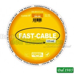 CAVO TV-SAT- 75 Ohm COAX 6,6mm DX66 - CLASSE A+