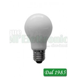 LAMPADINA A LED VETRO BIANCO 6 WATT E27 220 VOLT