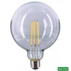 LAMPADINA LED FILAMENT GLOBO G125 E27 10W LUCE CALDA 3000°K