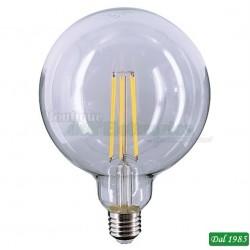 LAMPADINA LED FILAMENT GLOBO G95 E27 10W LUCE CALDA 3000°K