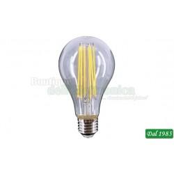 LAMPADINA LED FILAMENT GOCCIA E27 10W LUCE CALDA 3000°K