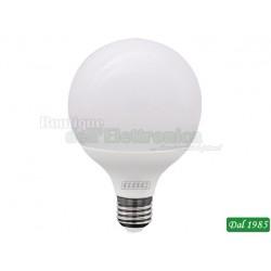 LAMPADINA LED GLOBO 95 E27 15W LUCE CALDA