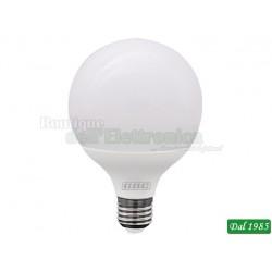 LAMPADINA LED GLOBO 95 E27 15W LUCE FREDDA