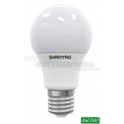 LAMPADINA LED GOCCIA E27 12 WATT BIANCO FREDDO 6000°K