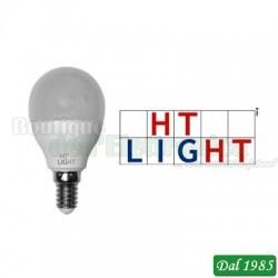 LAMPADINA MINI SFERA LED 175-250V 8W 750lm 4000K E14
