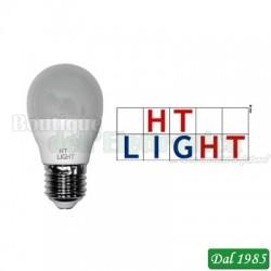 LAMPADINA MINI SFERA LED 175-250V 8W 750lm 4000K E27