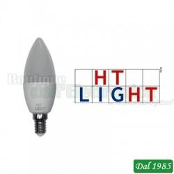 LAMPADINA OLIVA LED 175-250V 8W 750lm 3000K E14