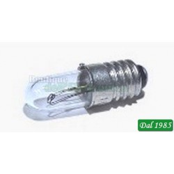 LAMPADA A SFERA 2,5 V E 10