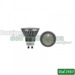 LAMPADA DICROICA A LED 230V 8,5W 580LM 2700°K ATTACCO GU10