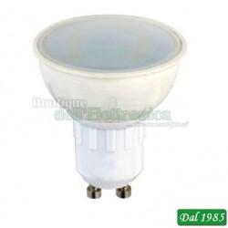 LAMPADA LED SPOT 6W GU10 LUCE CALDA 220VCC