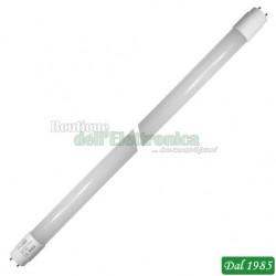 NEON T8 LED 48X2835 60CM 6000K 9W 100-265V L:589,5MM PIN ESCL LUCE FREDDA