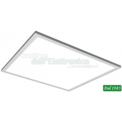 PANNELLO A LED 96X2835 230V 22W 4500K 30X60CM 295X595X10,5MM