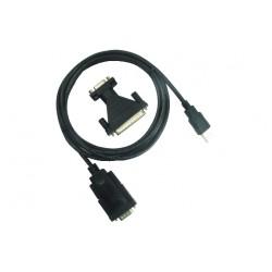 ADATTATORE RS232/USB + ADATT. 9/25
