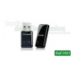 ADATTATORE USB WIRELESS SCHEDA USB MINI WIR.300MBps TL-WN823N