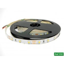 STRISCIA 5M IP65 3528 60LED/M 12V 4,8W/M 130LM/M ROSSA