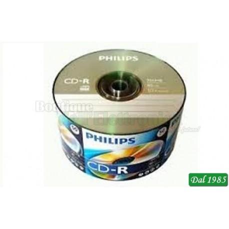 CD-R PHILIPS 80 MIN 700 MB
