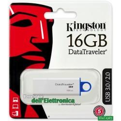 PENDRIVE 16GB USB 3.0 KINGSTON