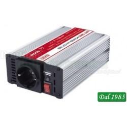 INVERTER SOFT START 12VCC 600W USB ( Mod. GBC INV3-12-600-C )