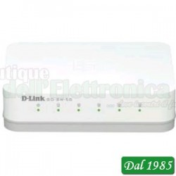 SWITCH GIGABIT ETHERNET 10/100/1000 5 PORTE