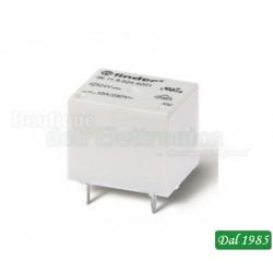 MINI RELE\' A CUBETTO DA C.S. 10A 1 SCAMBIO 48VDC ( Mod. FINDER 361190484001 )