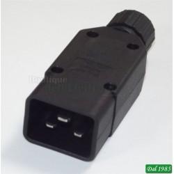 SPINA TRIPOLARE IEC C 20 PER UPS APC