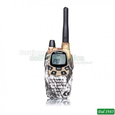 RADIOTRASMITTENTE DUAL BAND PMR446/LPD TRANSCEIVER G7 PRO MIMETIC