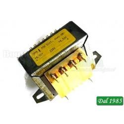 TRASFORMATORE 3+3V 20VA (FCE )TENSIONE DI INGRESSO 230Vca