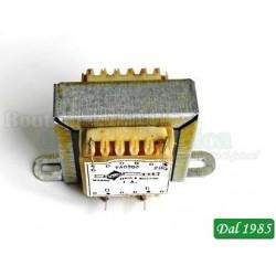 TRASFORMATORE DI ALIMENTAZIONE TA0302 - 6V - 1000mA (6VA) PRIMARIO 230V - 50/60Hz