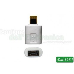 ADATTATORE COMPATIBILE MICRO USB-I5 LIGHTING
