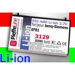 BATTERIA BENQ-SIEMENS EF 81 950 MAH 3,7 V A LITIO