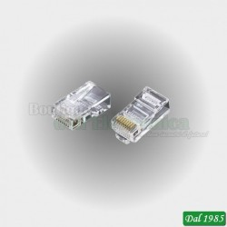 CONNETTORE RJ45 PER UTP CATEGORIA 6 CAVEL