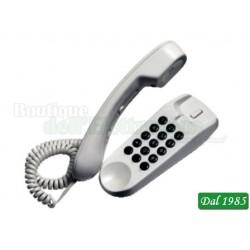 TELEFONO A FILO TIPO GONDOLA SAIET ( Mod. SAIET MINI BIANCO )