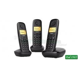 TRIS DI TELEFONI DECT GIGASET A170