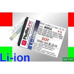BATTERIA PER NOKIA 3220-5140 3,7 VOLT 750 MAH A LITIO